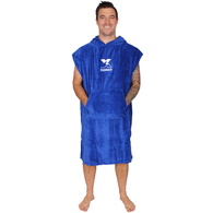 NOXEN ADULTS LARGE PONCHO ROYAL BLUE