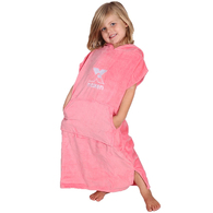 NOXEN TODDLERS XS PONCHO CORAL