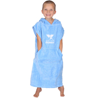 NOXEN TODDLERS XS PONCHO LIGHT BLUE