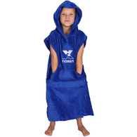 NOXEN TODDLERS XS PONCHO ROYAL BLUE