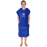 NOXEN TWEENS MEDIUM PONCHO ROYAL BLUE
