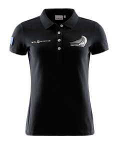 SAIL RACING WOMENS SHORE POLO CARBON