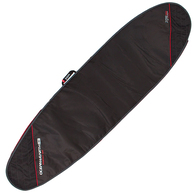 OCEAN N EARTH 2019 COMPACT DAY LONGBOARD COVER BLACK RED 9'6