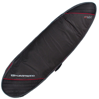 OCEAN N EARTH 2019 DOUBLE COMPACT FISH COVER BLACK RED 6'4