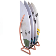 OCEAN N EARTH TIMBER FREE STANDING RAX - 4 BOARD