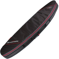 OCEAN N EARTH 2019 TRIPLE COMPACT SHORTBOARD COVER BLACK RED 7'2