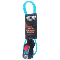 OCEAN N EARTH BODYBOARD BASIC STRAIGHT CORD CYAN BLUE