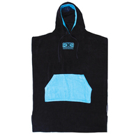 OCEAN N EARTH DAYBREAK MENS HOODED PONCHO BLUE