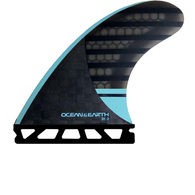 OCEAN N EARTH OE3 SPEED THRUSTER FINS BLUE - SINGLE TAB - M