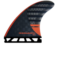 OCEAN N EARTH OE3 SPEED THRUSTER FINS ORANGE - SINGLE TAB - L