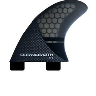 OCEAN N EARTH Q2 CONTROL QUAD REAR FINS - DUAL TAB