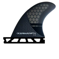 OCEAN N EARTH Q2 CONTROL QUAD REAR FINS - SINGLE TAB