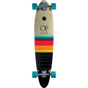 """OCEAN PACIFIC SWELL PINTAIL OFF WHITE/BLACK 40"""" 8.75"""""""