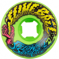 SANTA CRUZ 54MM VOMIT MINI NEON GREEN 97A