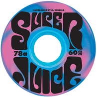 OJ 60MM SUPER JUICE BLUE PINK SWIRL 78A