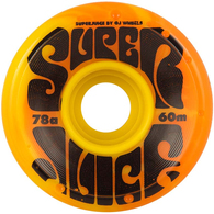 OJ 60MM SUPER JUICE YELLOW ORANGE SWIRL 78A