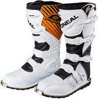 ONEAL 2019 YOUTH RIDER OFFROAD BOOTS WHITE