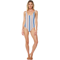 ONEILL 2018 WOMENS PIONEER ONE PIECE PEACH STRIPE