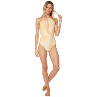 ONEILL 2018 WOMENS SHALLOW REVO ONE PIECE VNTAGE SUNFLOWER