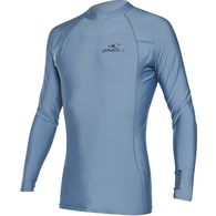 ONEILL 2019 BASIC SKINS LS CREW DUSTY BLUE
