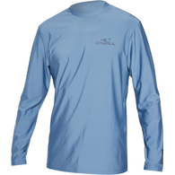 ONEILL 2019 BASIC SKINS LS RASH TEE DUSTY BLUE