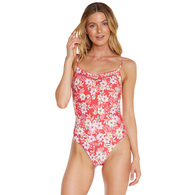 ONEILL 2019 EMPIRE ONE PIECE RED FLORAL