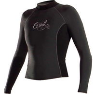 ONEILL 2020 WOMENS THERMO LS CREW BLK/BLK/BLK