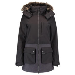 ONEILL SNOW 2021 WOMENS ONYX SNOW PARKA BLACK OUT
