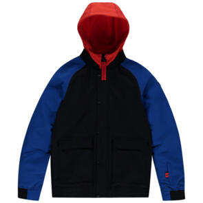 ONEILL SNOW 2021 YOUTH BOYS DECOMBE BOMBER JACKET BLACK OUT