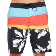 ONEILL HYPERFREAK ELEVATE TECHNICAL BOARDSHORTS BLK BLACK