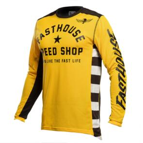 FASTHOUSE ORIGINALS AIR COOLED JERSEY GOLD/BLACK