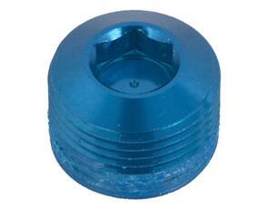 CRANKBROTHERS PEDAL PART 99088 CRB PEDAL HEX END CAP BLUE