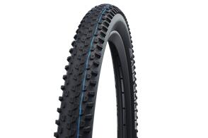 SCHWALBE RACING RAY 29 X 2.35 EVOLUTION FOLDING ADDIX SPEED (RED) TL-EASY SUPERRACE TRANSPARENT SKIN HS489
