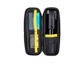 TOPEAK CAGE PACK  HARDSHELL, BLACK W/GREY STRAP XL