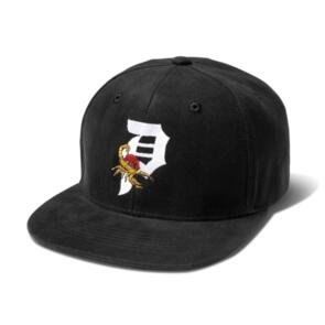 PRIMITIVE SCORPION ROSE SNAPBACK BLACK