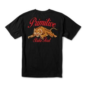 PRIMITIVE UNTAMED TEE BLACK