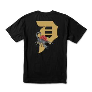 PRIMITIVE DIRTY P SCORPION TEE BLACK