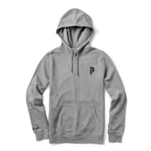 PRIMITIVE DIRTY P SCORPION HOOD HEATHER GREY