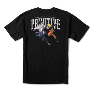 PRIMITIVE X NARUTO VERSUS TEE BLACK