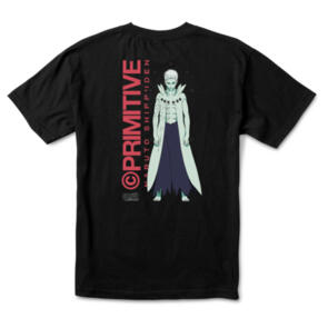 PRIMITIVE X NARUTO OBITO TEE BLACK