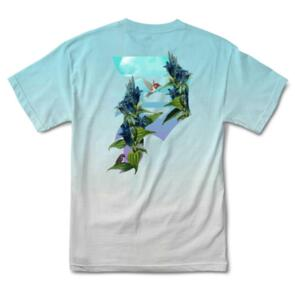 PRIMITIVE DIRTY P HUMMING WASHED TEE BLUE