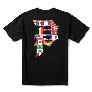 PRIMITIVE DIRTY P UNION TEE BLACK
