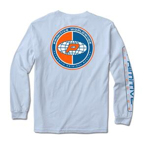 PRIMITIVE AUTHENTIC L/S TEE BLUE