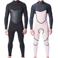 PEAK WETSUITS X-DRY C/Z 3/2 GB STEAMER BLACK
