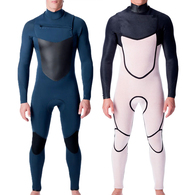 PEAK WETSUITS X-DRY C/Z 3/2 GB STEAMER SLATE