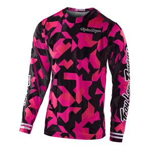 TROY LEE DESIGNS 2021 GP AIR JERSEY CONFETTI PINK | YOUTH