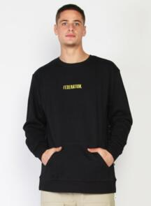 FEDERATION POCKET CREW TYPED BLACK