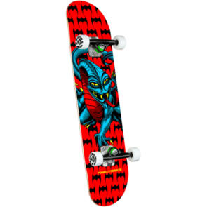 POWELL PERALTA CAB DRAGON ONE OFF COMPLETE RED 7.75