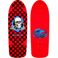 POWELL PERALTA OG RIPPER CHECKER RED BLACK 10