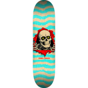 POWELL PERALTA RIPPER DECK NATURAL / TURQUOISE 8.0